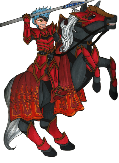 Fire Emblem: Fall of New Rome - Becky's Sketch book